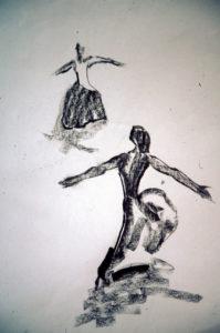 Dantzaris de Julián Ugarte - Dibujos