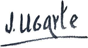 Julián Ugarte, firma