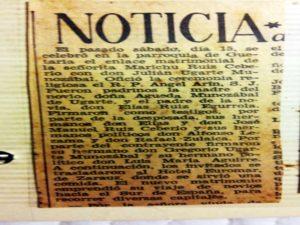 Julian Ugarte en Prensa