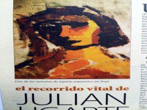 Apariciones de Julián Ugarte en prensa escrita