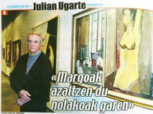 Julián Ugarte. Margolaria
