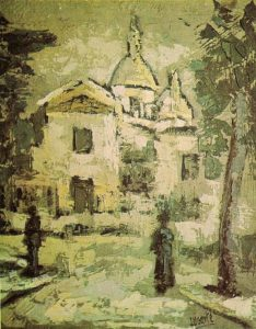 Casas óleos de Julián-Ugarte