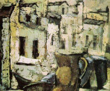Casas. Óleos de Julián Ugarte